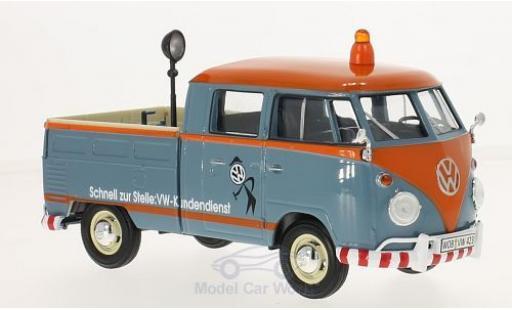 Volkswagen T1 A 1/24 Motormax Kundendienst Pick Up mit Ladegut modellautos