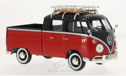 Volkswagen T1 A 1/24 Motormax Pick Up mit Dachgepäckträger modellautos
