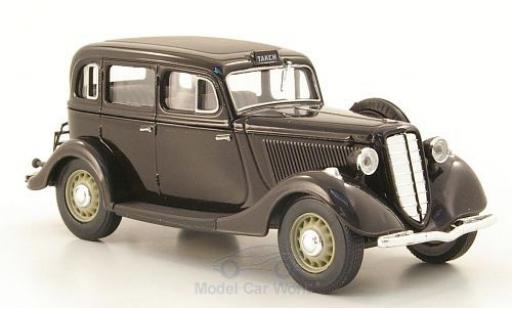 Gaz M1 Taxi 1/43 Nash Avtoprom GAZ noire miniature