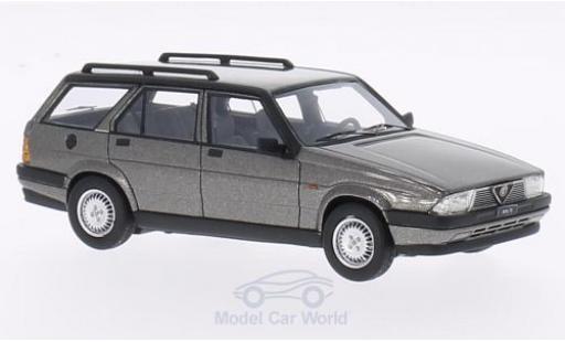 Alfa Romeo 75 1/43 Neo Sportwagon V6 2.5 métallisé grise 1986 miniature