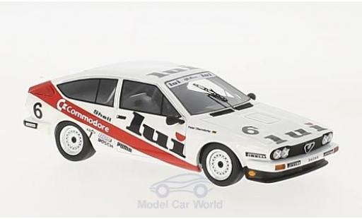 Alfa Romeo GT 2.5 1/43 Neo V6 Lui DPM 1985 P.Oberndorfer diecast model cars