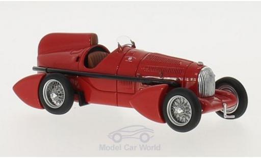 Alfa Romeo P3 1/43 Neo Tipo B Aerodinamica rosso 1934 miniatura