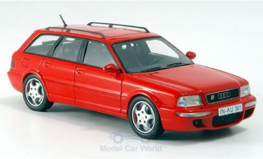 Audi RS2 1/43 Neo rouge 1994 miniature