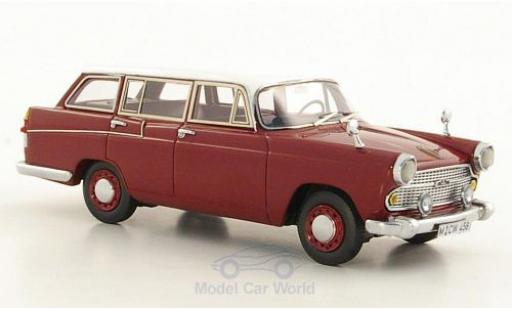 Austin A60 1/43 Neo Cambridge Countryman dunkelrouge/blanche 1966