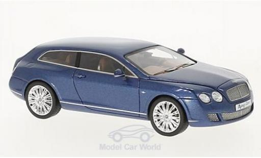 Bentley Continental T 1/43 Neo Flying Star by ouring metallise bleue 2010 miniature