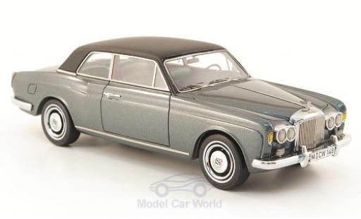 Bentley Corniche 1/43 Neo FHC metallise grey/black 1971 diecast model cars