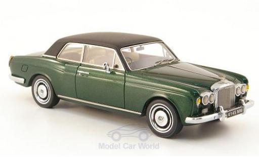 Bentley Corniche 1/43 Neo FHC metallise green/matt-black RHD 1971 diecast model cars