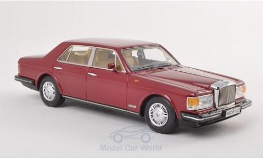 Bentley Mulsanne 1/43 Neo rosso 1982 modellino in miniatura