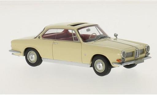 Bmw 3200 1/43 Neo CS Bertone beige 1961 miniature