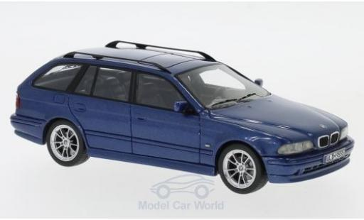 Bmw 520 1/43 Neo Touring (E39) metallise bleue 2002 miniature