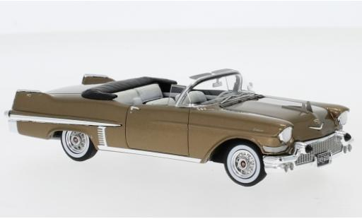 Cadillac Series 62 1/43 Neo Convertible metallise marron 1957 miniature