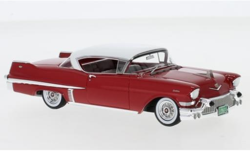 Cadillac Series 62 1/43 Neo Hardtop Coupe rouge/blanche 1957 miniature