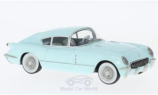 Chevrolet Corvette C1 1/43 Neo Corvair Concept blue 1954 diecast model cars