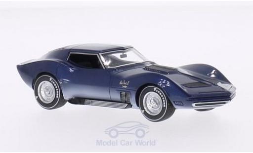 Chevrolet Corvette C2 1/43 Neo Mako Shark II Concept 1965 modellautos