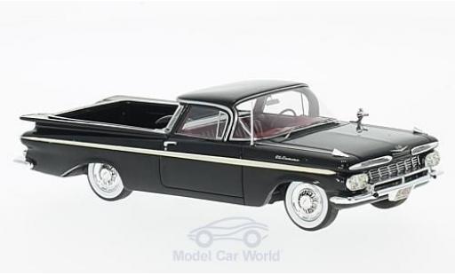 Chevrolet El Camino 1/43 Neo black/white 1959 diecast model cars
