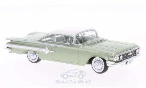 Chevrolet Impala 1960 1/43 Neo Sport Coupe metallise verte/blanche miniature