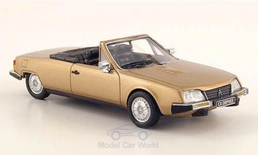 Citroen CX 1/43 Neo Orphee Cabriolet metallise beige 1983 diecast model cars