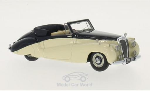 Daimler DB18 1/43 Neo Special Sports DHC by Barker beige/dunkelbleue RHD 1952 miniature