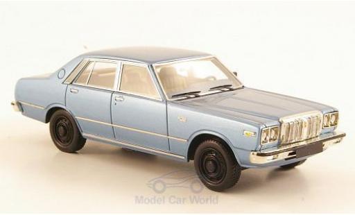 Datsun 200L 1/43 Neo Laurel (C230) metallise bleue miniature
