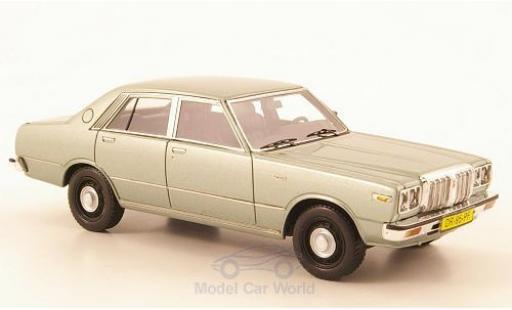 Datsun 200L 1/43 Neo Laurel (C230) metallise grise miniature