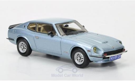 Datsun 260Z 1/43 Neo 2+2 metallic-hellblu 1975 miniatura