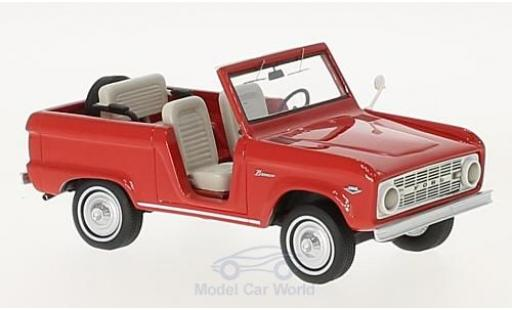 Ford Bronco 1/43 Neo Roadster rouge 1966 miniature