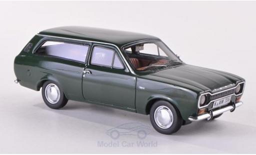 Ford Escort 1/43 Neo I Turnier dunkelgrün 1968 miniature