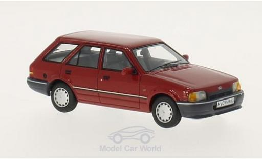 Ford Escort 1/43 Neo MK IV Turnier rouge 1986 miniature