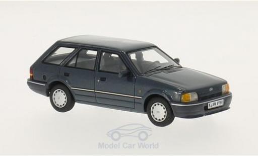 Ford Escort MKI 1/43 Neo MKIV Turnier metallic-dunkelgrise 1986 miniature