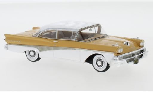 Ford Fairlane 1/43 Neo 500 Hardtop marron/blanche 1958 miniature