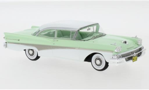 Ford Fairlane 1/43 Neo 500 Hardtop turquoise/blanche 1958