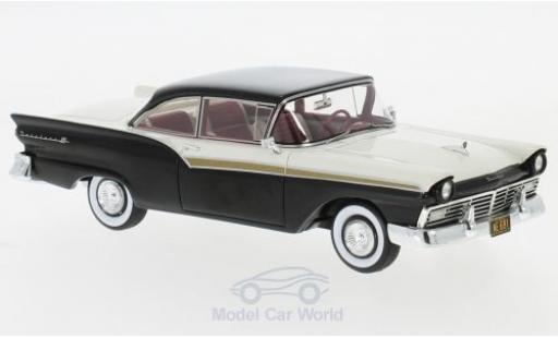 Ford Fairlane 1/43 Neo 500 Hardtop noire/blanche 1957 miniature