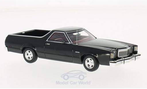 Ford Ranchero 1/43 Neo noire 1979 miniature