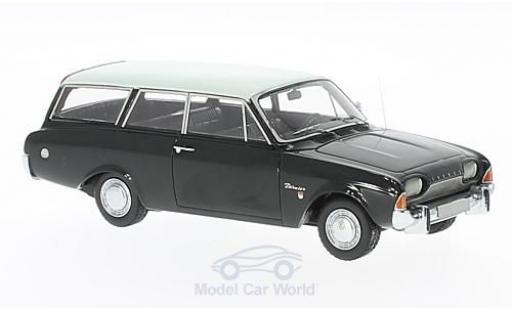 Ford Taunus 1960 1/43 Neo 17m P3 Turnier noire/beige miniature