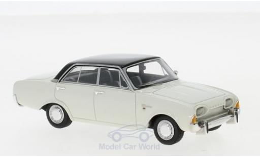 Ford Taunus 1/43 Neo 17m (P3) white/black 1960 diecast model cars