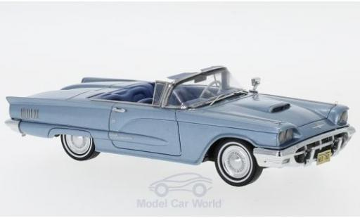 Ford Thunderbird 1960 1/43 Neo Convertible metallise bleue miniature