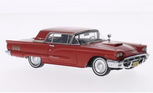 Ford Thunderbird 1/43 Neo Hardtop rosso 1960 modellino in miniatura