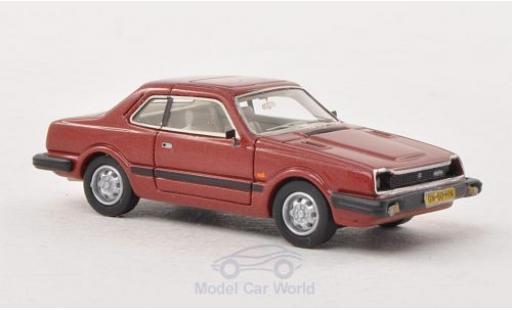 Honda Prelude 1/87 Neo Mk1 metallic-dunkelrouge 1981 miniature