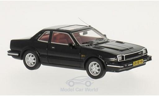 Honda Prelude 1/43 Neo MKI noire 1981 miniature