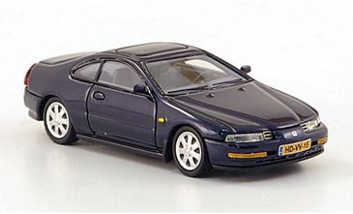 Honda Prelude 1/43 Neo MKIV metallic-dunkelbleue 1992 miniature