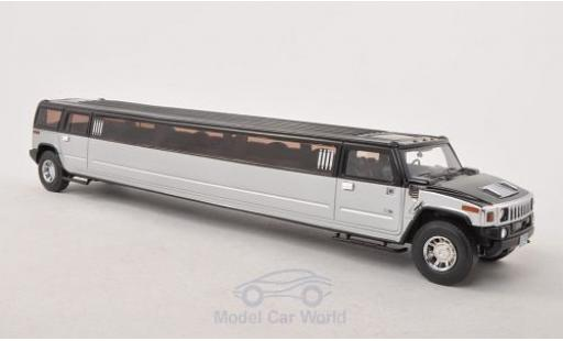 Hummer H2 1/43 Neo Stretch Limousine black/grey diecast