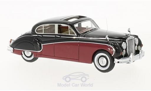 Jaguar MK 9 1/43 Neo VIII dunkelrouge/noire RHD 1955 miniature