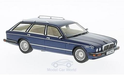 Jaguar XJ 40 1/43 Neo Shooting Brake metallise bleue RHD 1989 miniature