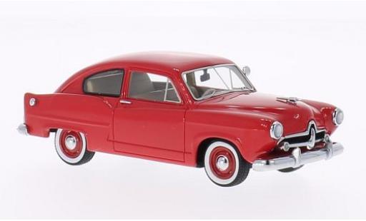 Kaiser Henry J 1/43 Neo rouge 1951 miniature
