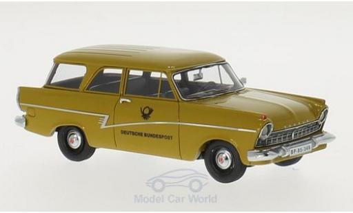 Ford Taunus 1957 1/43 Neo Limited 300 P2 17m Turnier Deutsche Bundespost miniature