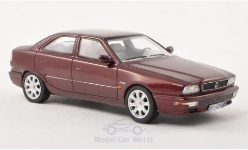 Maserati Quattroporte 1/43 Neo IV metallic-dunkelred 1994 diecast