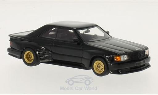 Mercedes 500 SEC 1/43 Neo Koenig Specials noire 1985