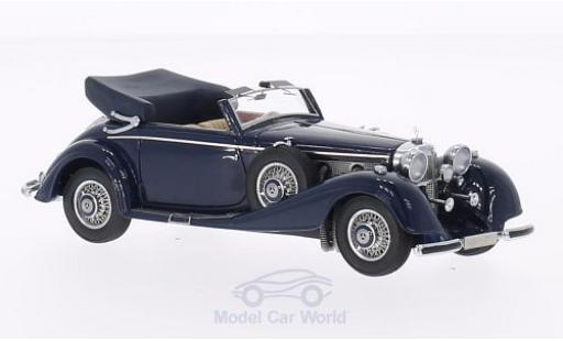 Mercedes 540 1/43 Neo K Typ A Cabriolet bleue 1936 Verdeck geöffnet miniature