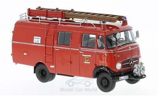 Mercedes L319 1/43 Neo Feuerwehr Lübeck 1961 Kastenwagen diecast