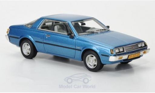 Mitsubishi Sapporo 1/43 Neo MkI Coupe metallise bleue 1982 miniature